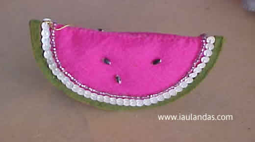 Watermelon (Ornament of the Month)